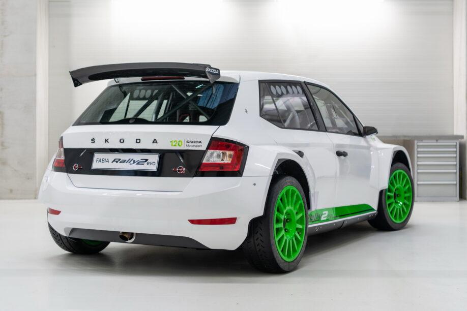 Fabia Rally2 Edition 120 viert een heftig feestje